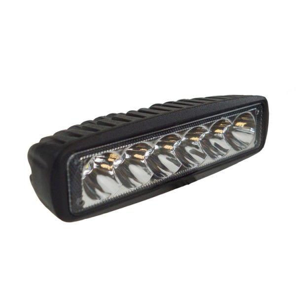 1224V Slimline Led Work Lamp 6 X 3W