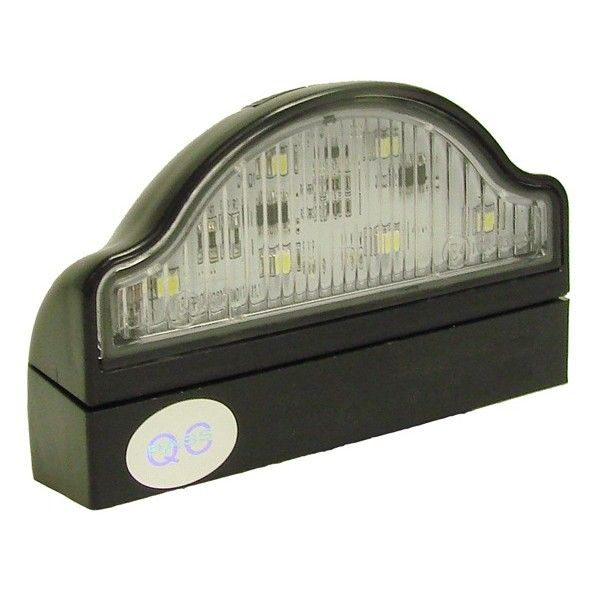 Number Plate Lamp With Clip Base Cable