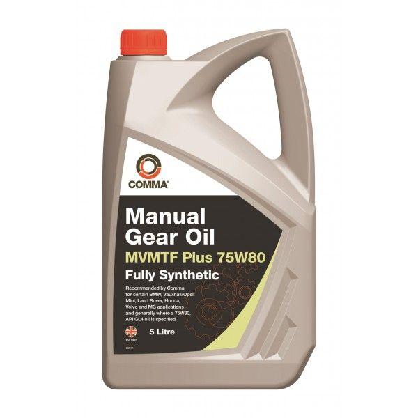 Mvmtf Plus Transmission Fluid 75W80 5 Litre