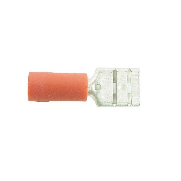 Wiring Connectors Red Female Slideon 6.3Mm Pack Of 4