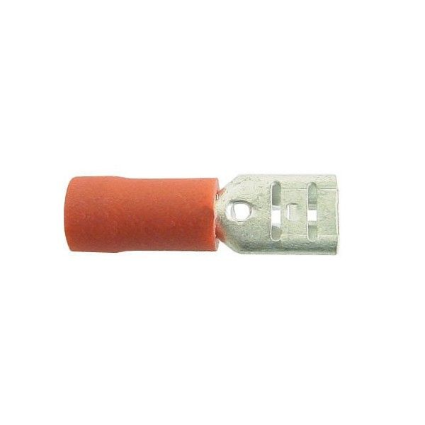 Wiring Connectors Red Female Slideon 5Mm Pack Of 4