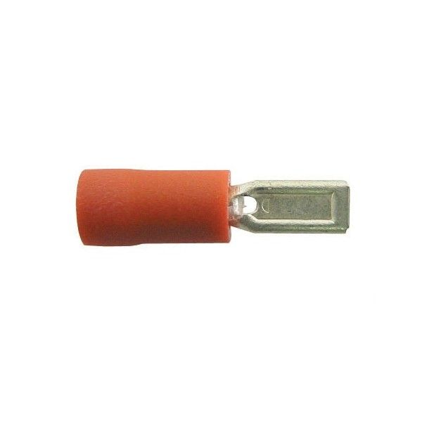 Wiring Connectors Red Male Slideon 2.8Mm Pack Of 4