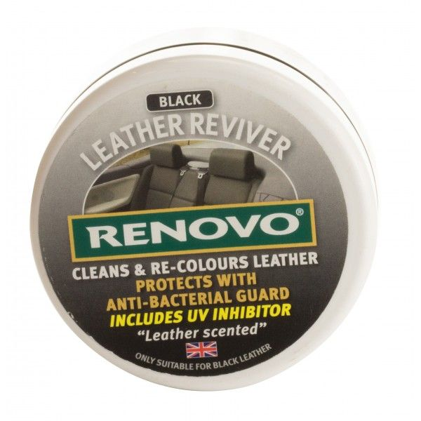 Leather Reviver Black 200Ml