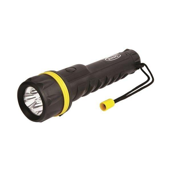 Heavy Duty Rubber Led Torch 50 Lumens