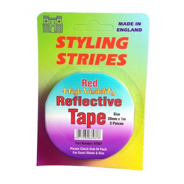 Hi Vis Reflective Tape Red
