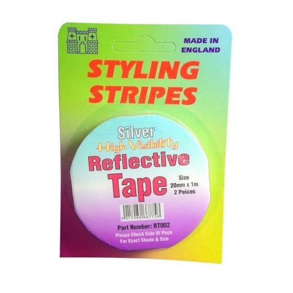 Hi Vis Reflective Tape Silver