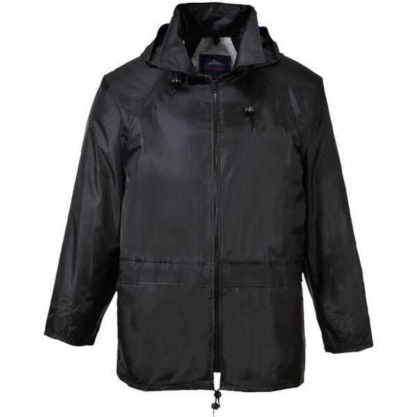 Classic Rain Jacket Black Medium