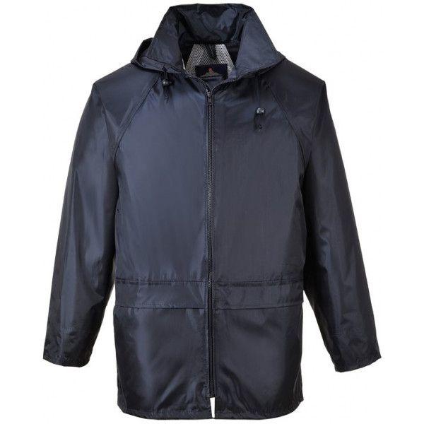 PORTWEST Classic Rain Jacket  Navy  XXX Large