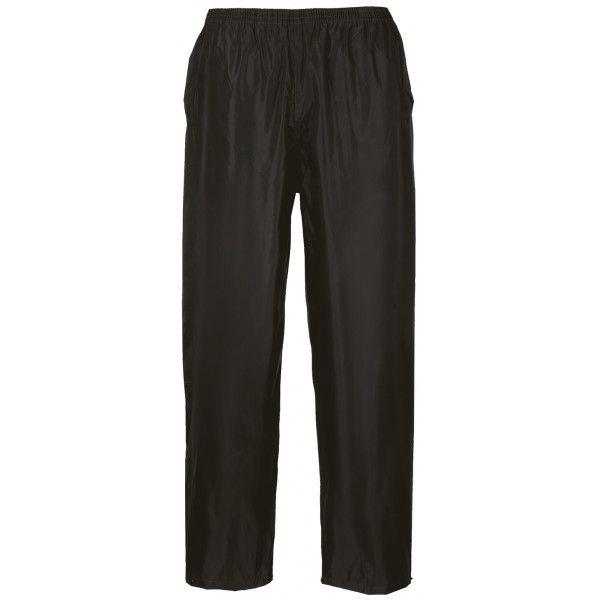 Classic Rain Trousers Black Large Regular