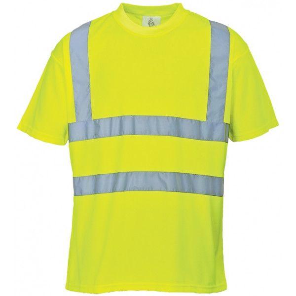 Hivis Tshirt Yellow Small