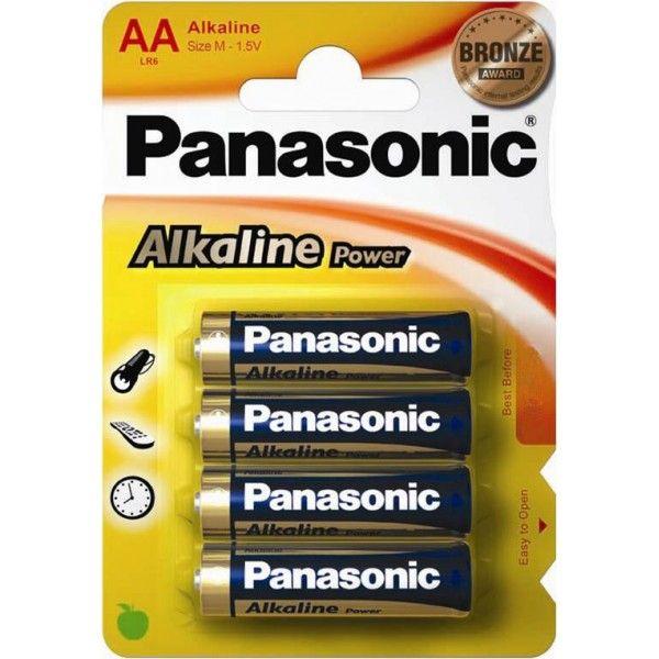 Alkaline Power Aa Batteries Pack Of 4