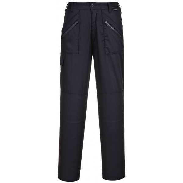 Ladies Action Trousers Black Large