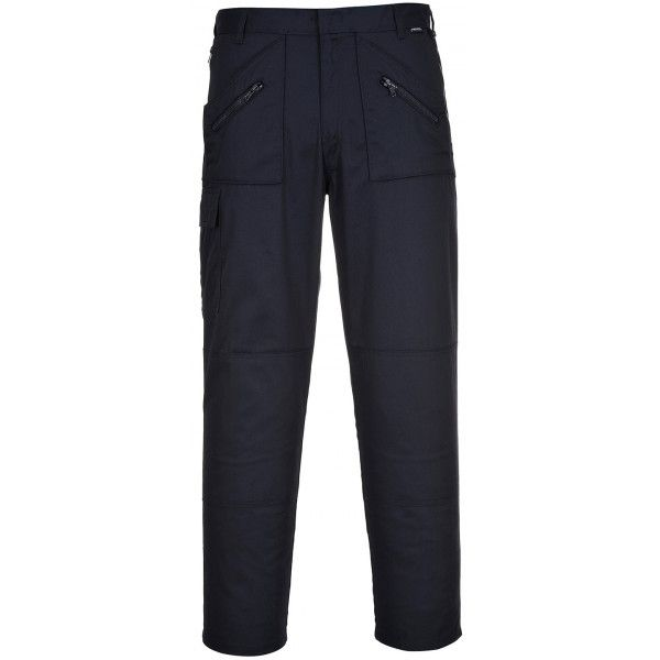 Action Trousers Navy 33In. Waist Regular