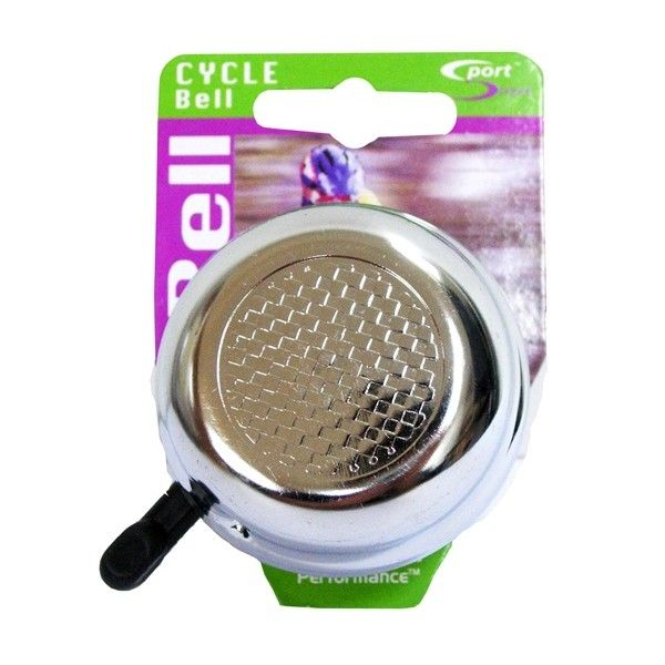 Alloy Cycle Bell Silver