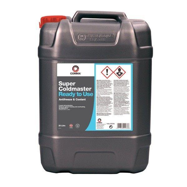 Super Coldmaster Antifreeze Coolant Ready To Use 20 Litre