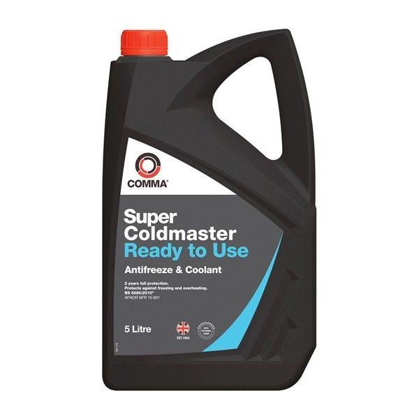 Super Coldmaster Antifreeze Coolant Ready To Use 5 Litre