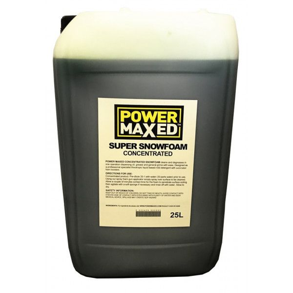 Power Maxed Snow Foam 25Ltr Concentrate