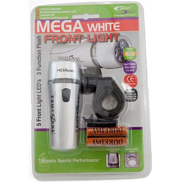 Megabright Led Front Cycle Light