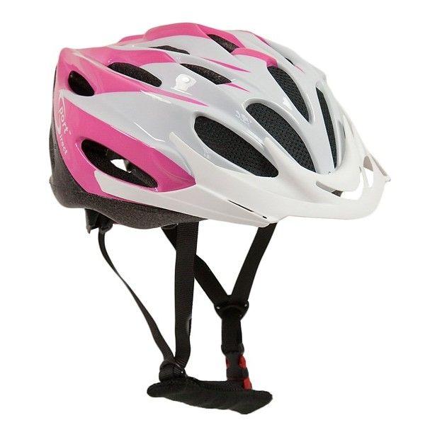 Comp Team Junior Pink White Cycle Helmet 5256Cm