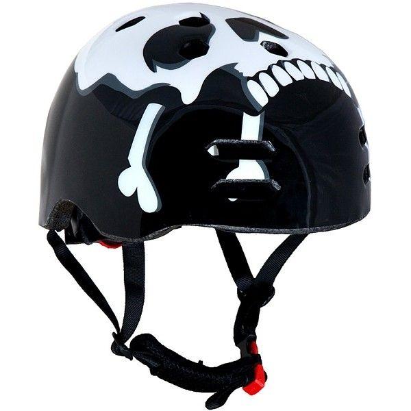 The Skull Black Bmx Helmet 5658Cm
