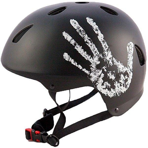 The Hand Black Bmx Helmet 5658Cm