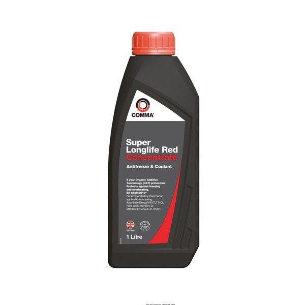 Super Longlife Antifreeze Coolant Concentrated 1 Litre
