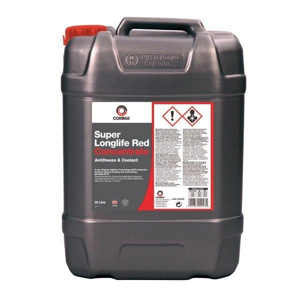 Super Longlife Antifreeze Coolant Concentrated 20 Litre