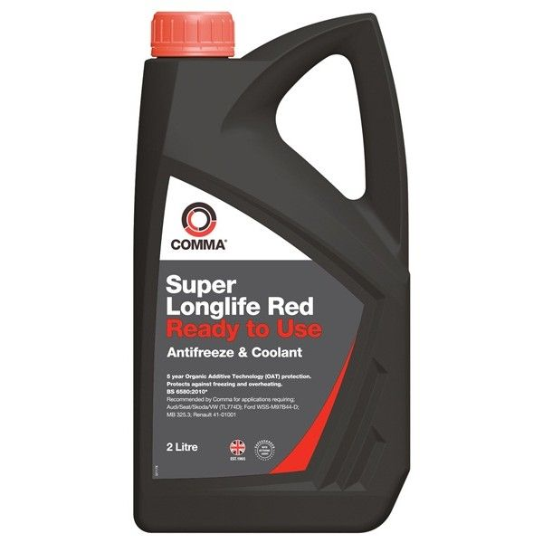 Super Longlife Antifreeze Coolant Ready To Use 2 Litre