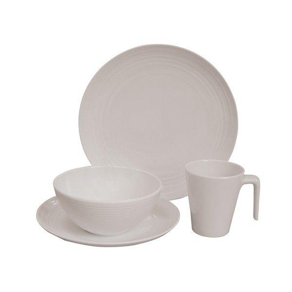 Seramika Vanilla Dining Set