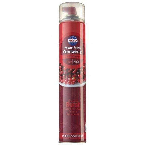 Cranberry Power Fresh Air Freshener 750Ml