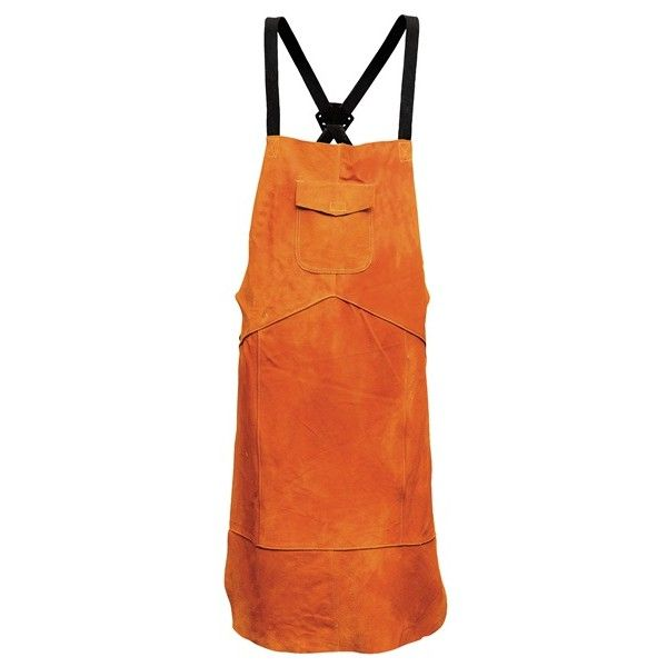 Leather Welding Apron One Size