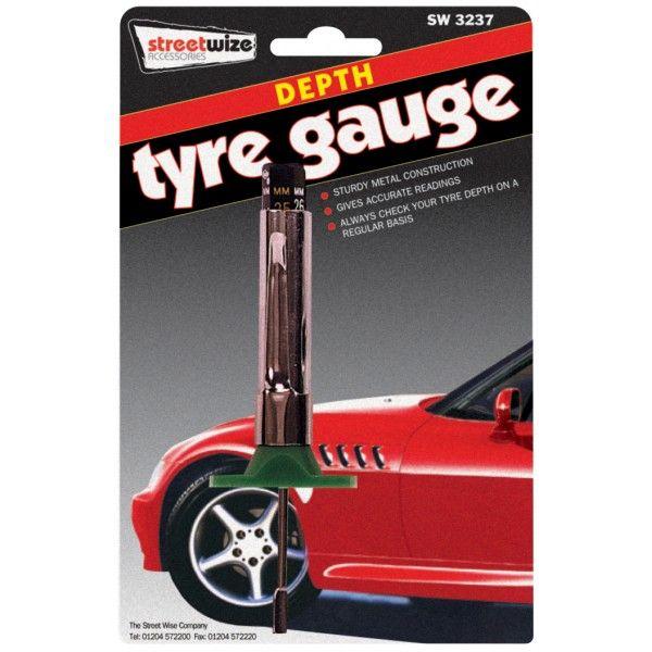 Tyre Tread Depth Gauge  Analogue
