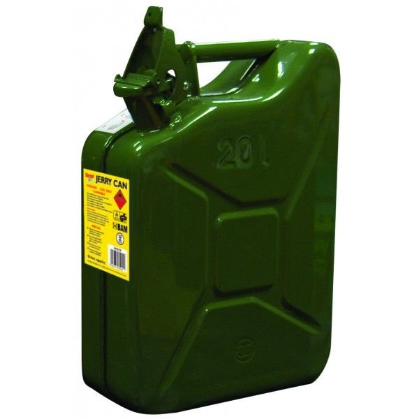 20 Litre Metal Jerry Can