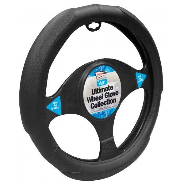 Van Steering Wheel Cover Soft Grip Black