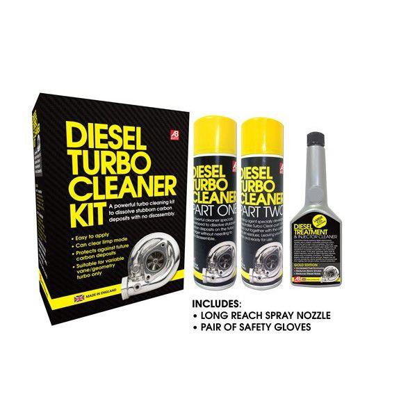 Power Maxed Diesel Turbo Cleaing Kit 5Pc