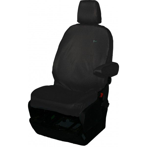 Van Seat Cover Single Black Ford Transit Chassis Cabtipper 201363 Onwards