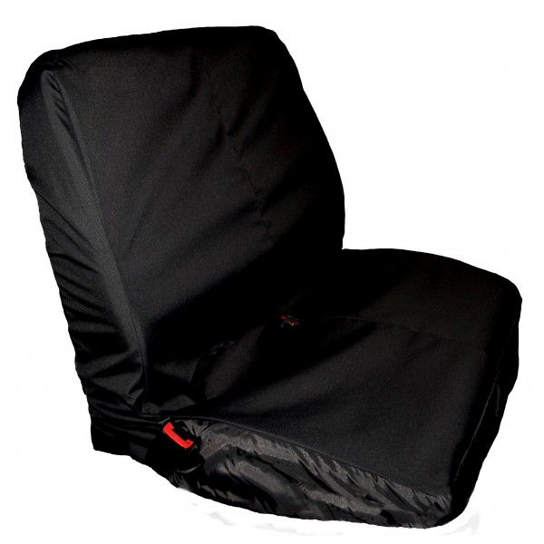 Truck Seat Cover Double Black