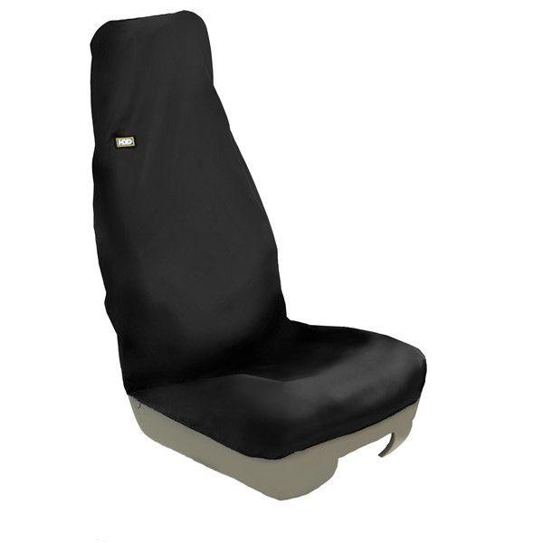 Technicians Seat Cover Single Black