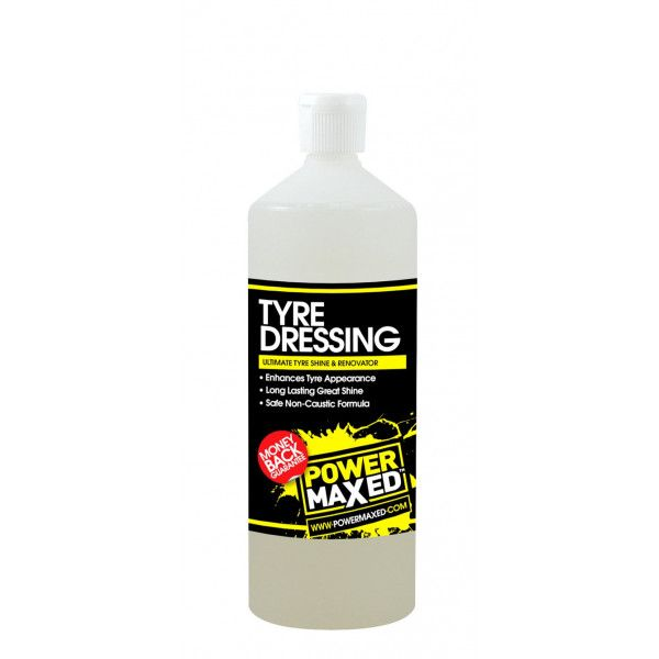Power Maxed Tyre Dressing 1Ltr Ready To Use