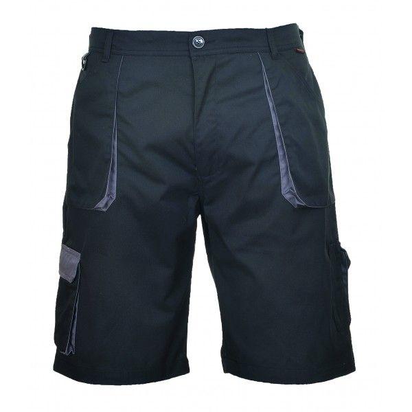 Texo Contrast Shorts Black Large