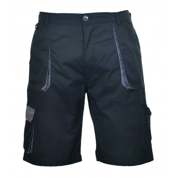 Texo Contrast Shorts Black