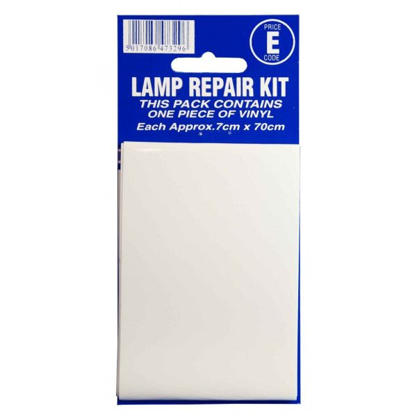 Lamp Repair Outside Sticker Transparent