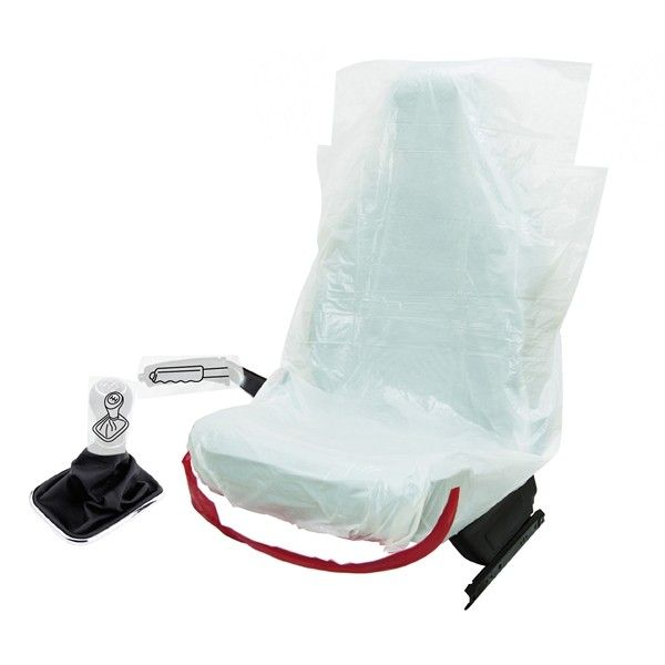 Disposable 3In1 Car Service Protection Kit 250 Sets