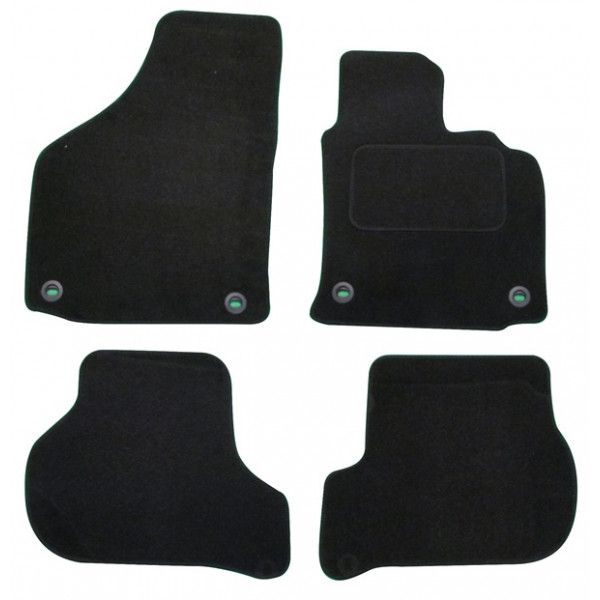 Standard Tailored Car Mat Vw Golf 5 Tdi Oval With Clips 20042007 Pattern 1350