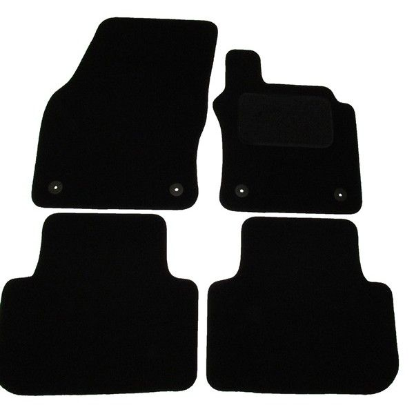 Standard Tailored Car Mat Vw Golf Sv With 4 Clips 2014 Onwards Pattern 3438