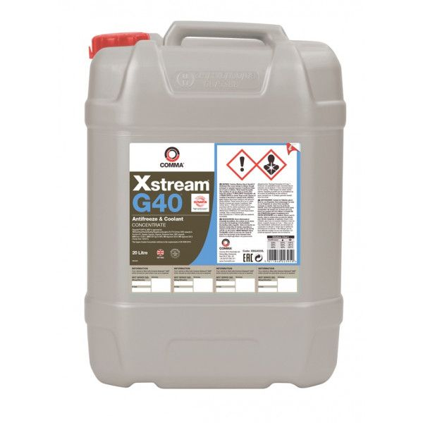 Xstream G40 Concentrated Antifreeze Coolant 20 Litre