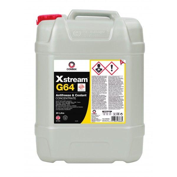 Xstream G64 Antifreeze Coolant 20 Litre