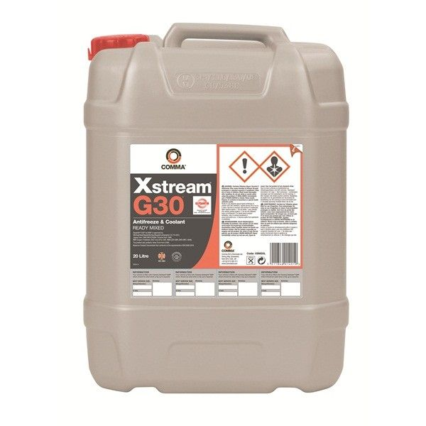 Xstream G30 Antifreeze Coolant Ready To Use 20 Litre