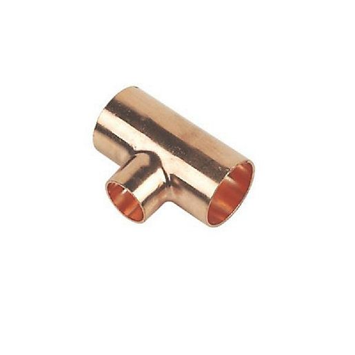 Plumbright Endfeed Tee Reducing Branch 42X42x15mm