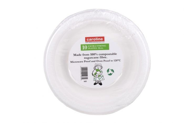 Castleview Extra Strong Plates Pack 10 7/18cm